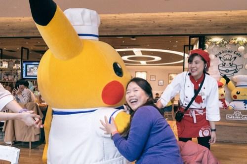 Incoming Pikachu