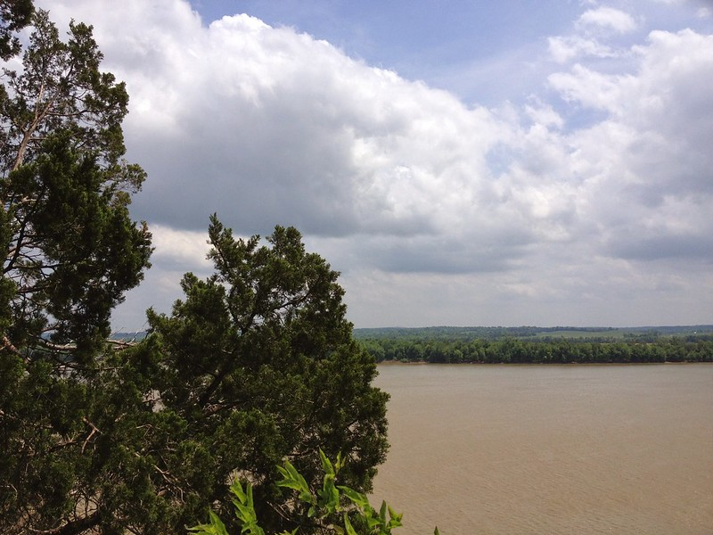 Muddy Ohio River