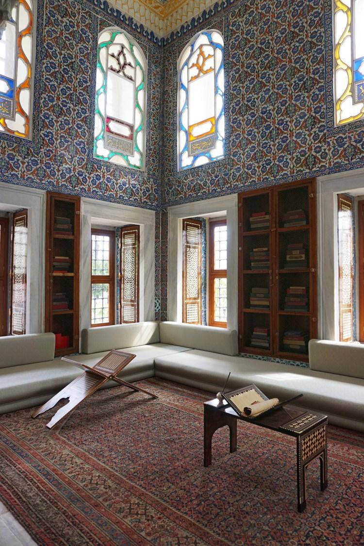 Enderûn Kütüphanesi (The Enderûn Library), Topkapı Palace