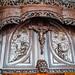 Puerta de madera tallada interior Real Basilica de San Francisco el Grande Madrid 02