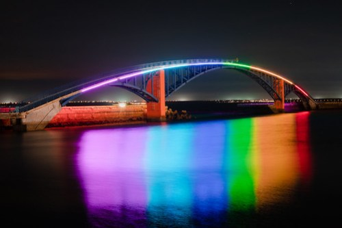 Rainbow Bridge, Penghu, Taiwan