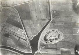 Luchtfoto_van_Fort_Spijkerboor - ongeveer 1925