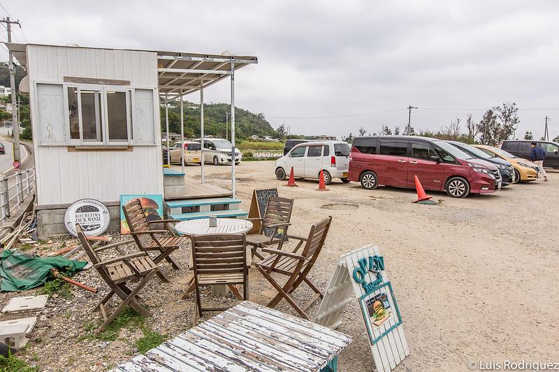 Aparcamiento de playa en Korijima