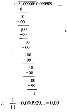 NCERT Solutions for Class 9 Maths Chapter 1 Number Systems Ex 1.3 A1