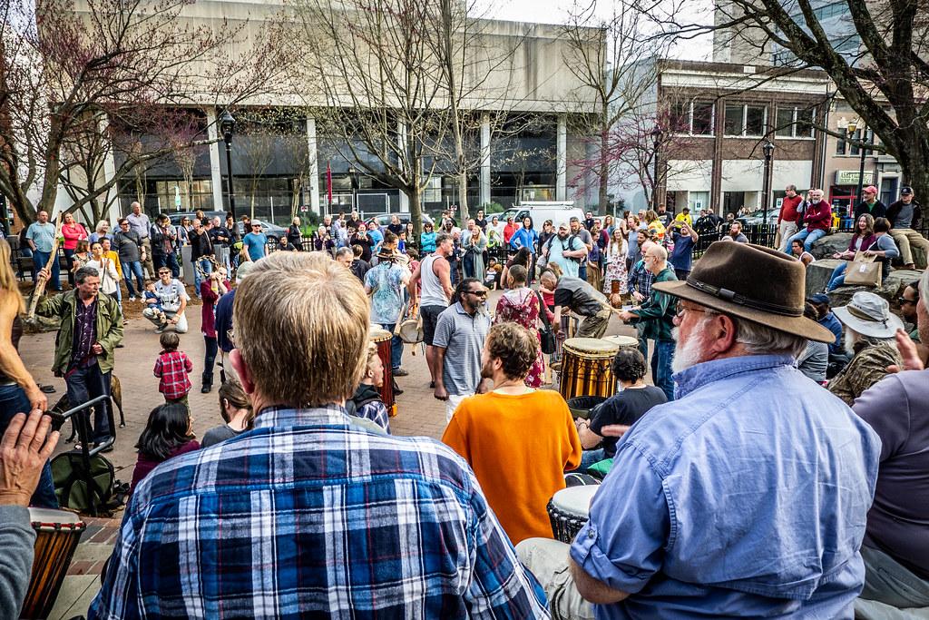 Asheville Drum Circle-51
