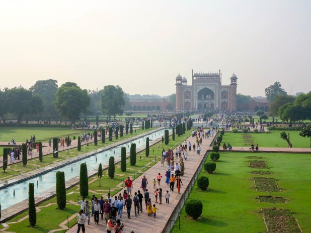 Jardines del Taj Mahal