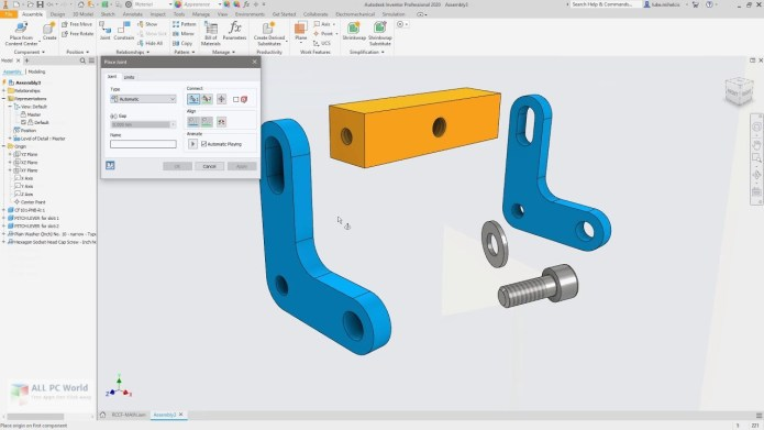 Design with Autodesk Inventor Professional 2020 full
