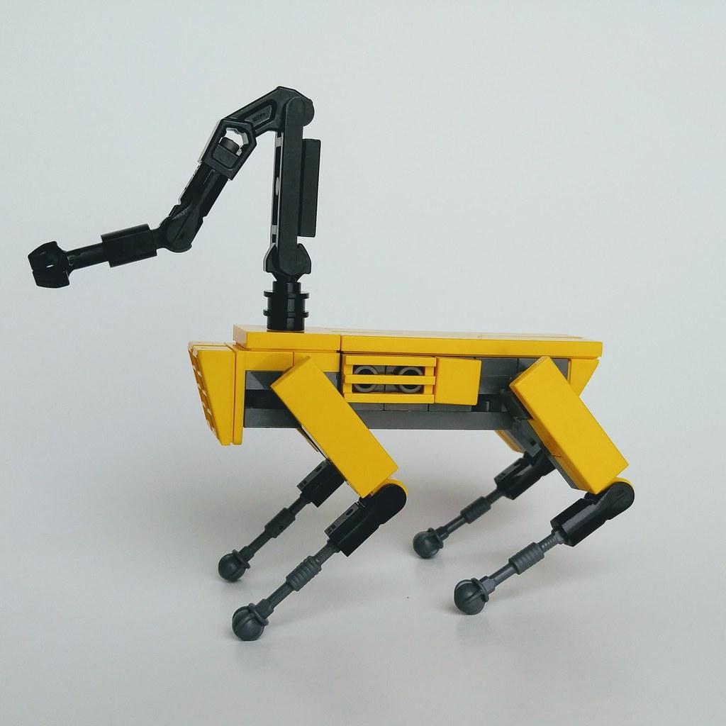 Diseño del Spot abogados robótica