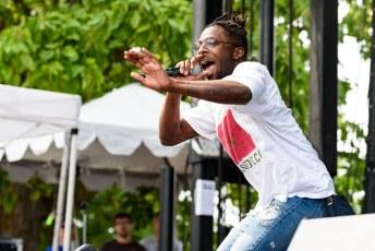 Isaiah Rashad @ Pitchfork Music Festival, Chicago IL 2017