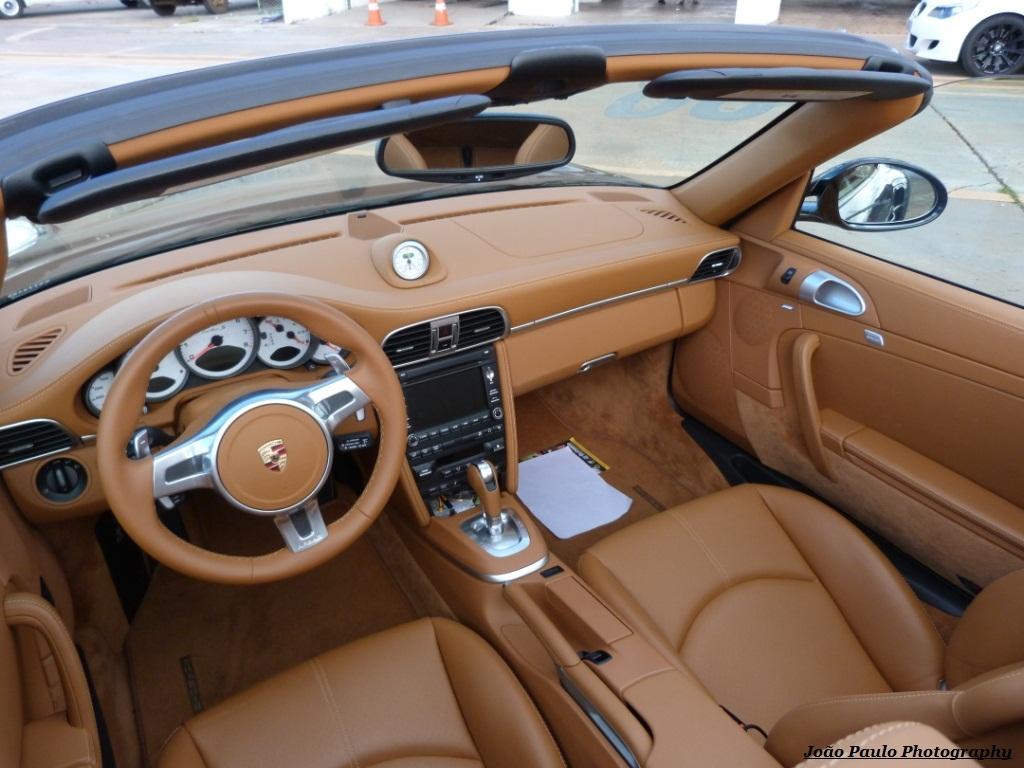 Porsche 911 Turbo S Cabrio Mkii Interior Caramelo 233 Show