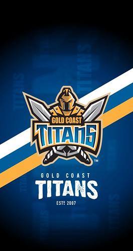 Gold Coast Titans iPhone 6\/7\/8 Lock Screen Wallpaper | Flickr