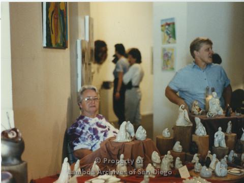 Lesbian Community Cultural Arts (LCCA), Cultural Weekends Centro Cultural de la Raza : Ila Suzanne and Sally Hopkins