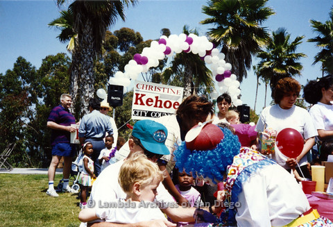 P151.004m.r.t City Council Rally, Bill Beck in purple striped shirt