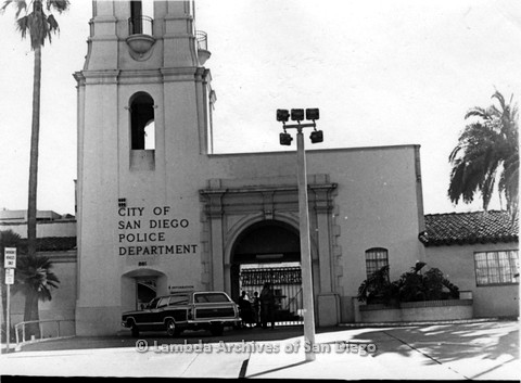 P180.001.01m.r.t Exterior of City of San Diego Police Department