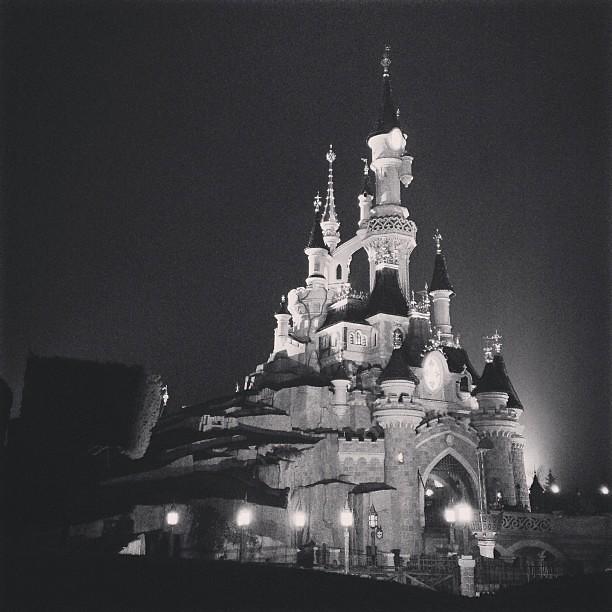 Sleeping Beauty Castle At Night Paris Fr France Disne Flickr