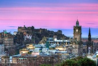 Edinburgh Castle at Sunrise