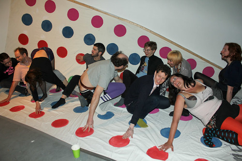 Much of Flux's past & present on the Mega Twister board