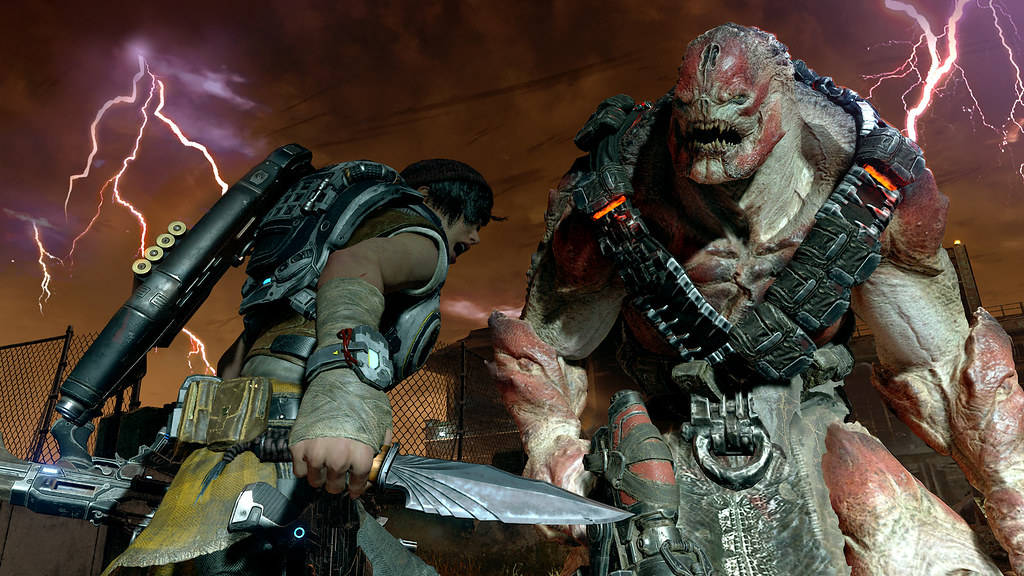 Gears of War 4 Game Review: Brush off that Dusty Chainsaw   Flickr