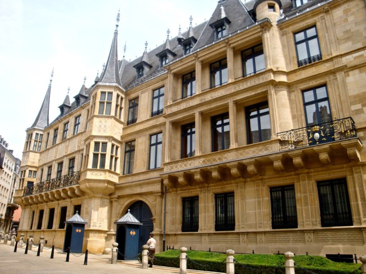 Palais Grand Ducal, Luxembourg city   The Grand Duke and Duc…   Flickr