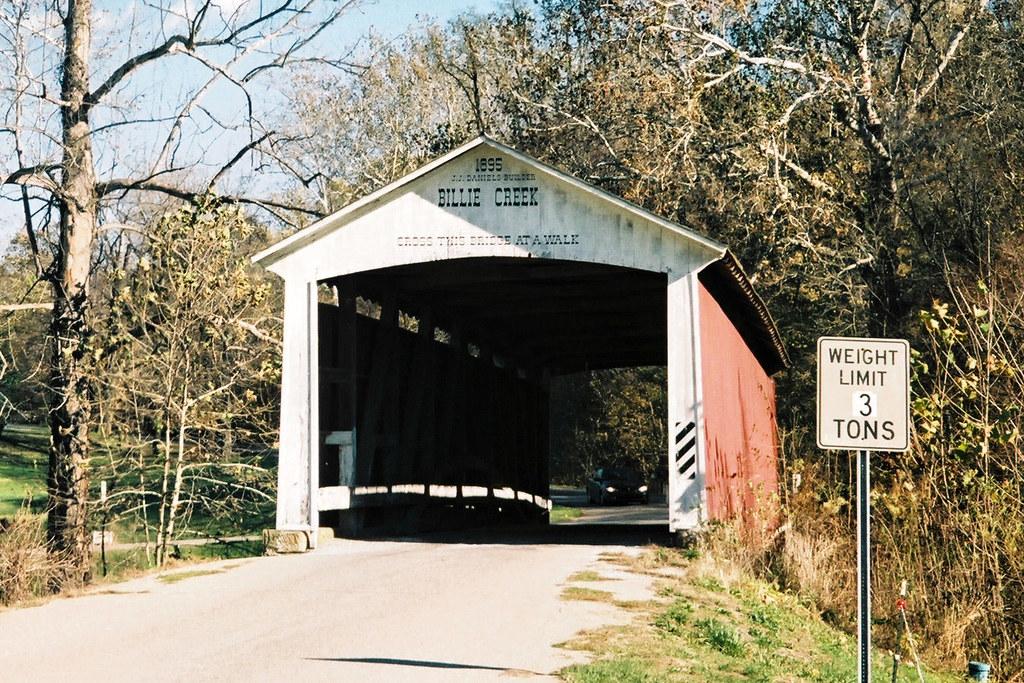 Billie Creek Covered Bridge