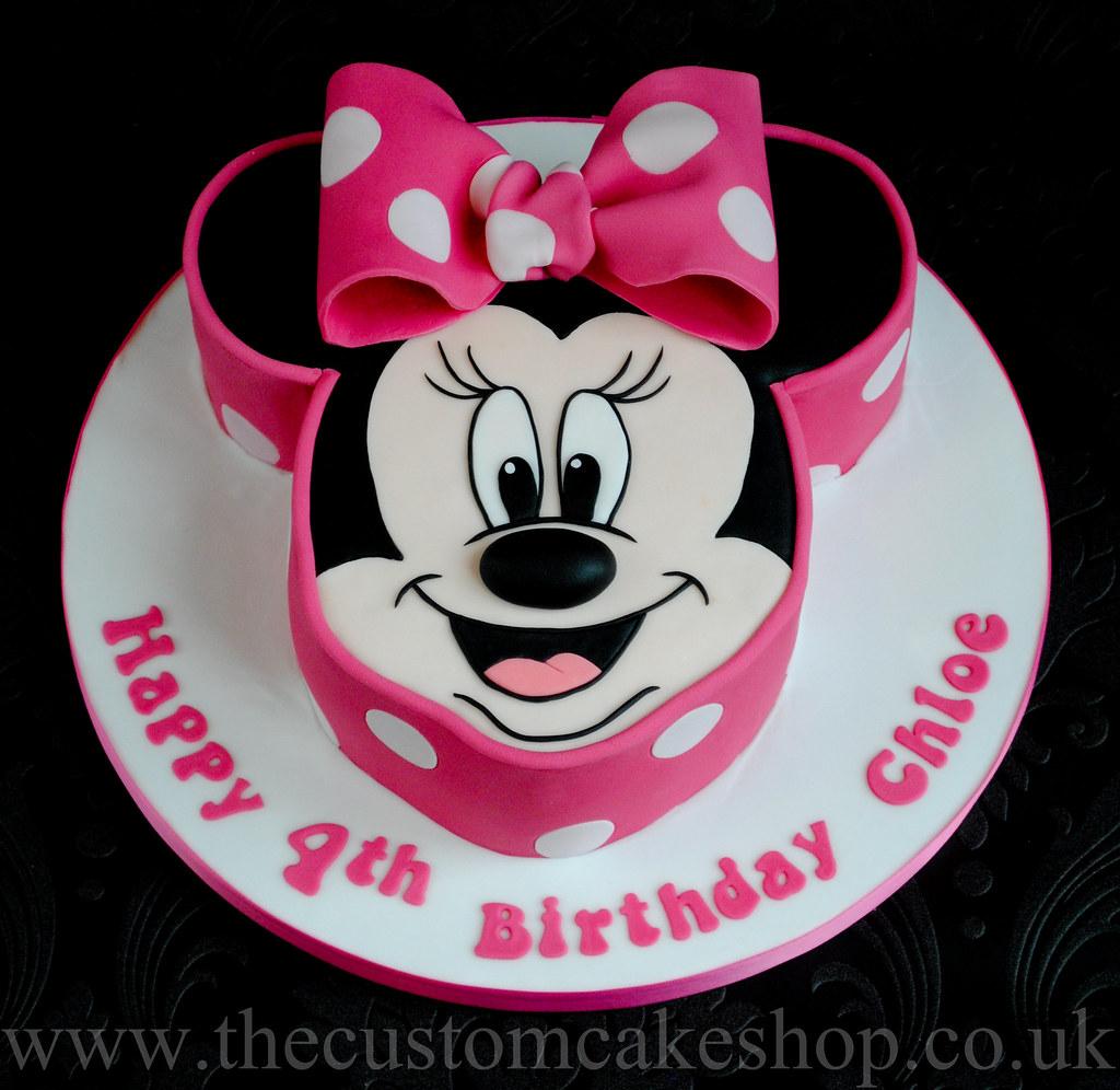 Minnie Mouse Birthday Cake Www Thecustomcakeshop Co Uk Www Flickr