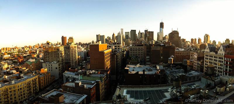 Lower Manhattan Evening Panorama