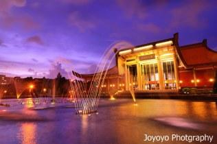 蘇拉颱風外圍環流 國父紀念館