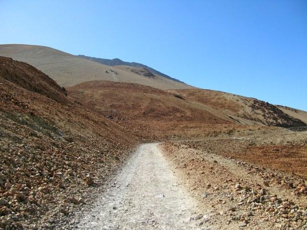 Sendero de Montaña Blanca en El Teide