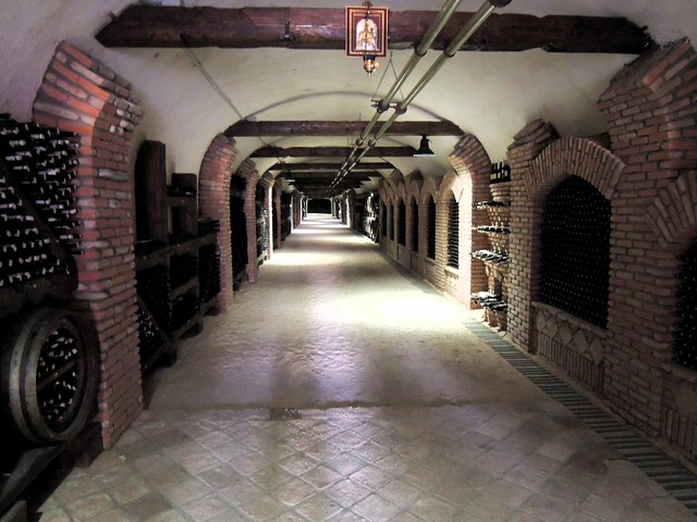 8 km long wine storage tunnel? by bryandkeith on flickr