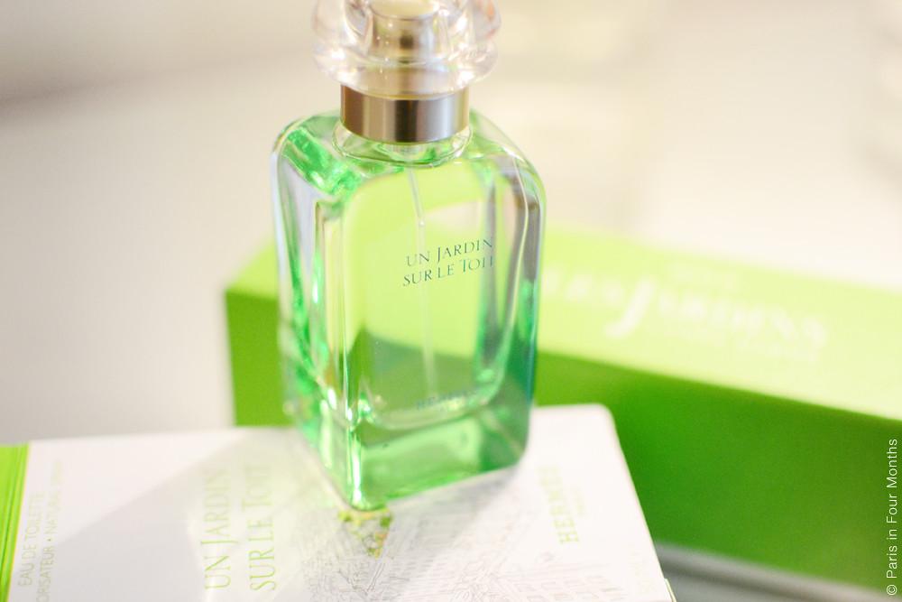 Hermès Perfume: Un Jardin Sur le  Toit