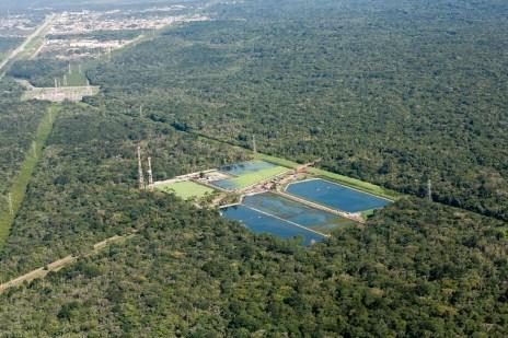 Estação de Tratamento de Esgotos da Riviera - 100% do esgoto gerado é tratado e devolvido à natureza sem prejuízo ao meio ambiente