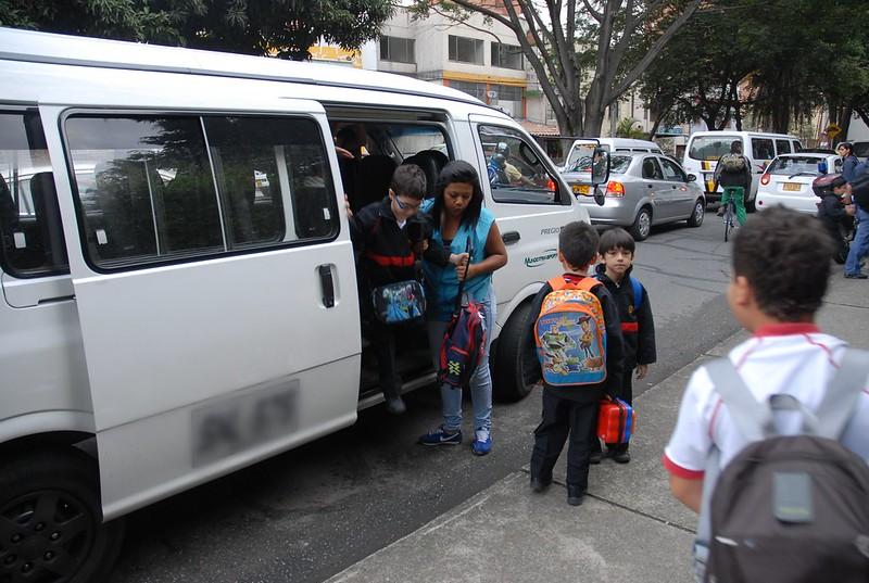 Control al transporte escolar