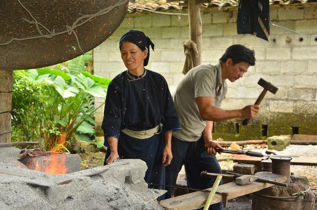 Blacksmith village