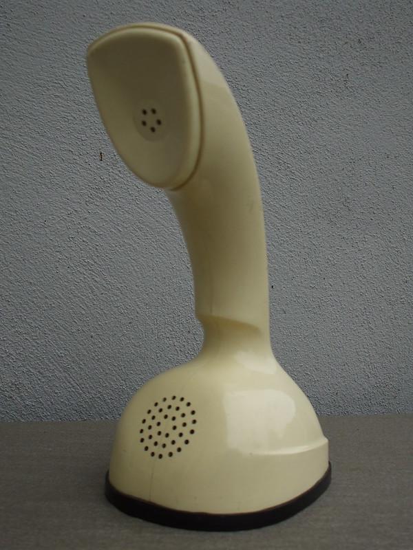 Mid Century Modern Original Cream Ericophon Home Telephone Made in Sweden