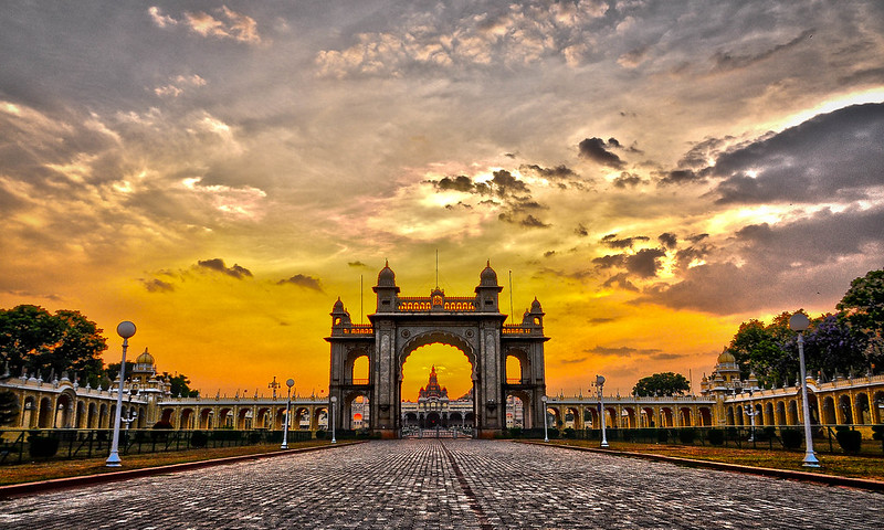 Main Gate of the Mysore Palace