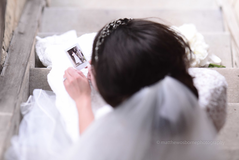 A Polaroid Wedding