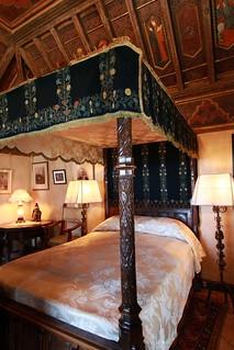 William Randolph Hearst's bedroom