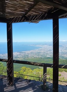 View of Naples from Mt. Vesuvius