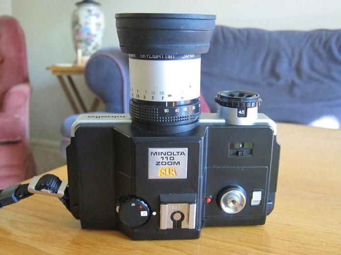 Minolta 110 Zoom SLR
