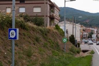 Toen ik vanuit Andorra Catalonië in Spanje binnenreed werd er volop campagne gevoerd voor het (illegale) referendum over onafhankelijkheid.