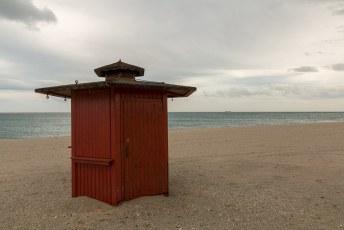 Ik had nog nooit van de plaats gehoord, maar je kunt er o.a. lekker naar het strand.
