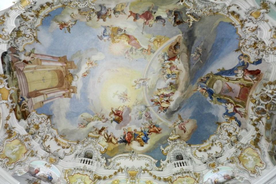 Iglesia Wies Baviera Alemania Patrimonio de la Humanidad Unesco 05