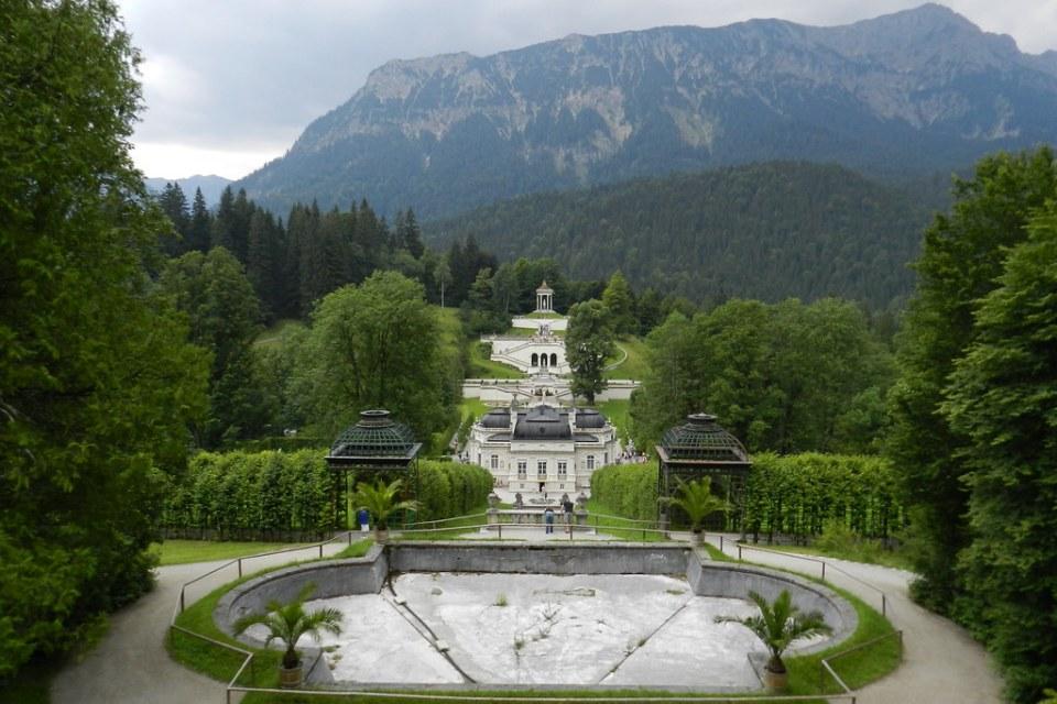 Linderhof Palacio y jardines Baviera Alemania 09