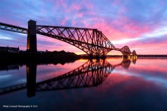 Forth Rail Bridge at Sunrise