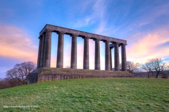 National Monument on Calton Hill