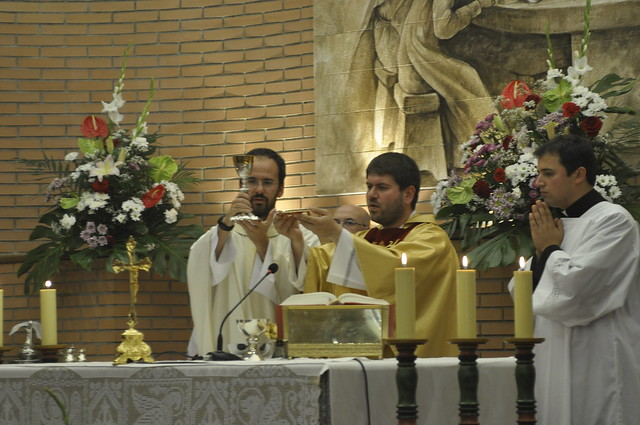 Primera misa pp. Stefano y Giuseppe