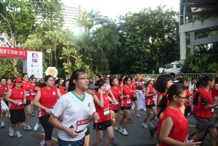 Great Eastern Women's Run 2012