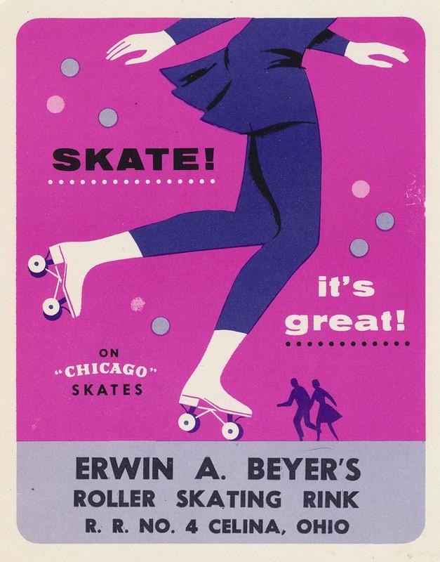 Erwin A. Beyer's Roller Skating Rink - Celina, Ohio