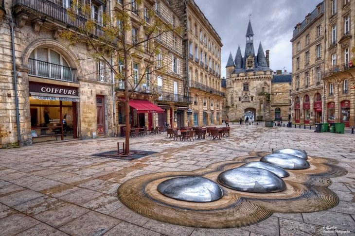 Place de Palais et Porte de Cailhau ou Porte du Palais. Bo…   Flickr
