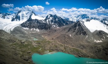 The mighty Tian Shan Range